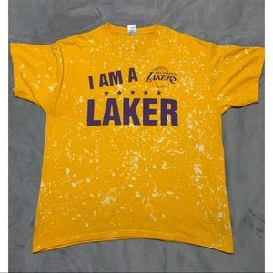 Lakers Distressed T-shirt Size XL